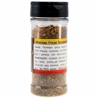 Montana Steak Seasoning in a Large Spice Jar (5.64 oz.)