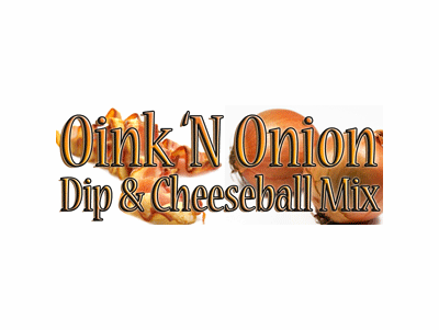 Oink 'N Onion Dip Mix & Spread Mix, Case of 24 Packets