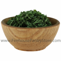 Parsley Leaves, Dried, Granulated, 33 Pound Bulk Case (Special Order)