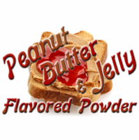 Peanut Butter & Jelly Flavored Powder in a Large Spice Jar (4.41 oz.)