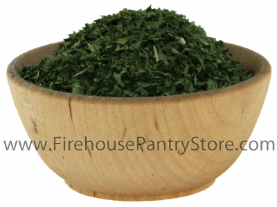 Peppermint Leaves, Dried, Crushed, 1 Pound Bulk Bag