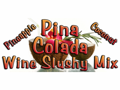 Pina Colada Wine Slush Mix, 10 Pound Bulk Bag