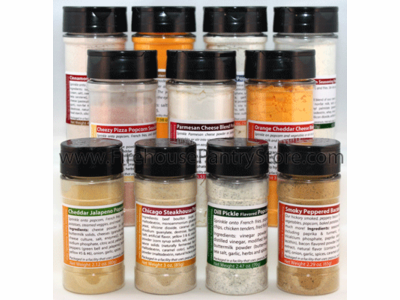 Premium Popcorn Seasoning Collection (11 Varieties)