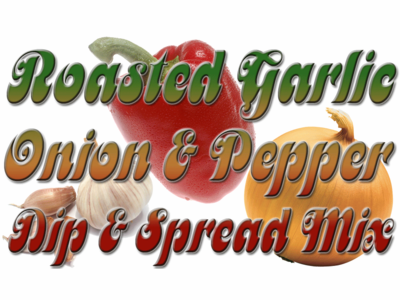 Roasted Garlic 'N Red Pepper Dip & Dressing Mix, 1 Packet