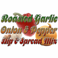 Roasted Garlic 'N Red Pepper Dip & Dressing Mix, 1 Pound Pantry Bag