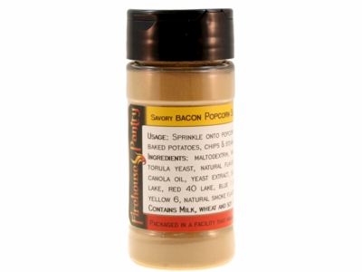 Savory Bacon Popcorn Seasoning in a Spice Jar (3.17 oz.)