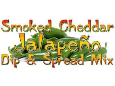 Smoked Cheddar Jalapeno Dip & Spread Mix, 5 Pound Bulk Bag