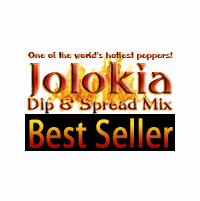 Spicy Bhut Jolokia (Ghost Pepper) Dip Mix & Spread Mix