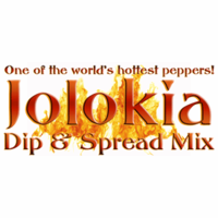 Spicy Bhut Jolokia (Ghost Pepper) Dip Mix & Spread Mix, 5 Pound Bulk Bag