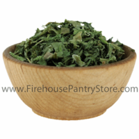 Spinach Flakes, Dried, 20 Pound Bulk Case (Special Order)