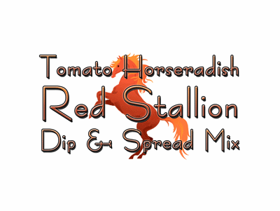 "Tomato Horseradish ""Red Stallion"" Dip & Spread Mix, 1 Pound Pantry Bag"