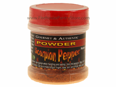 Trinidad Scorpion Chili Pepper Powder in a Small Spice Jar (14g)