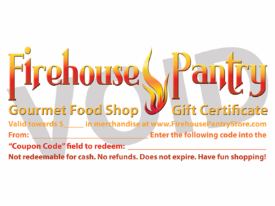 Upgrade Gift Certificate to Mailed Paper Gift Certificate