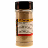 Vegetable Broth Mix, All Natural, in a Large Spice Jar (4.76 oz.)