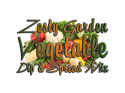 Zesty Garden Vegetable Dip & Spread Mix, 1 Pound Pantry Bag