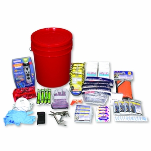 4-Person Deluxe Emergency Bucket Kit