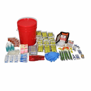 5-person Shelter-In-Place/Lockdown Bucket Kit