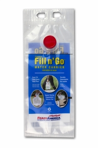 Emergency Fill n' Go Water Carrier (1 Gallon)