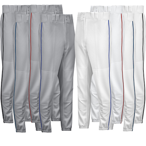 810a48d2e86 Mizuno Youth Select Piped Pant 350149