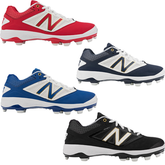navy blue and orange baseball cleats mens lifestyle