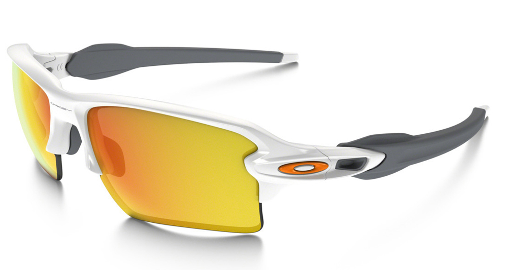 a2688dcbc1 Oakley Flak 2.0 XL Polished White Fire Iridium Sunglasses OO9188-19