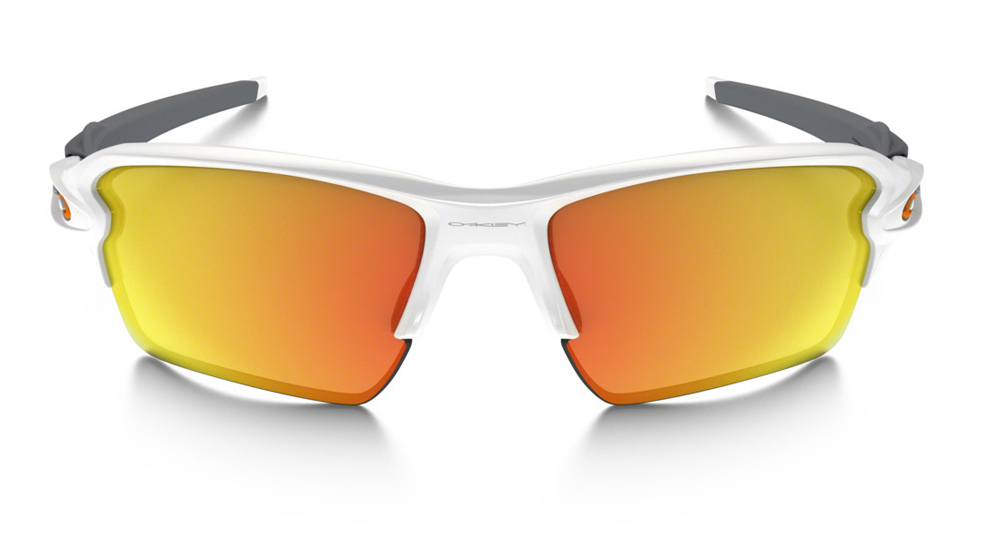 839293d8fb Oakley Flak 2.0 XL Polished White Fire Iridium Sunglasses OO9188-19