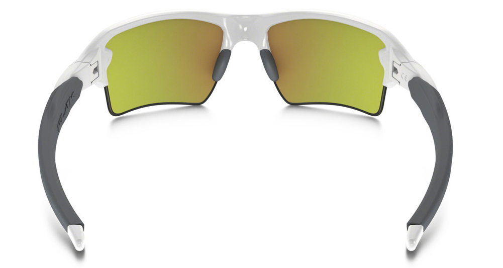 61b80a2d93 Oakley Flak 2.0 XL Polished White Fire Iridium Sunglasses OO9188-19