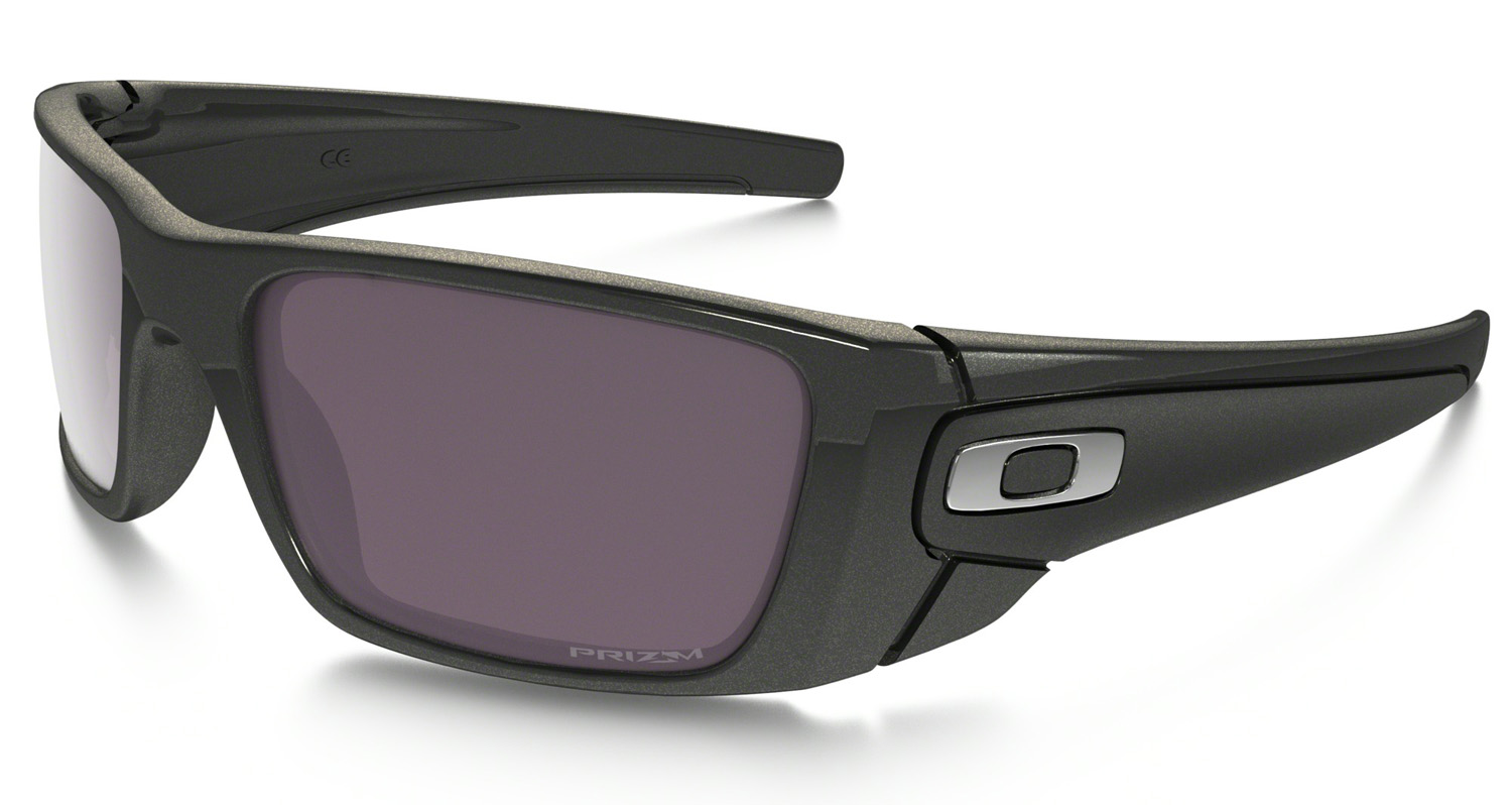 d60b1bb21a Oakley Fuel Cell Prizm Daily Polarized Granite Sunglasses OO9096-H760