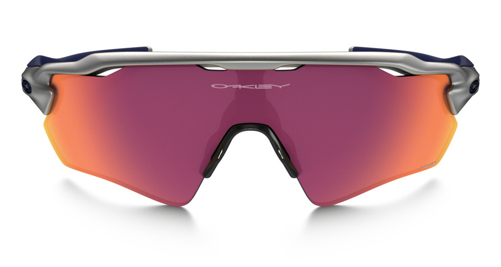 Oakley Radar EV Path Prizm Field MLB Collection Silver/Navy/Navy Sunglasses  OO9208-33