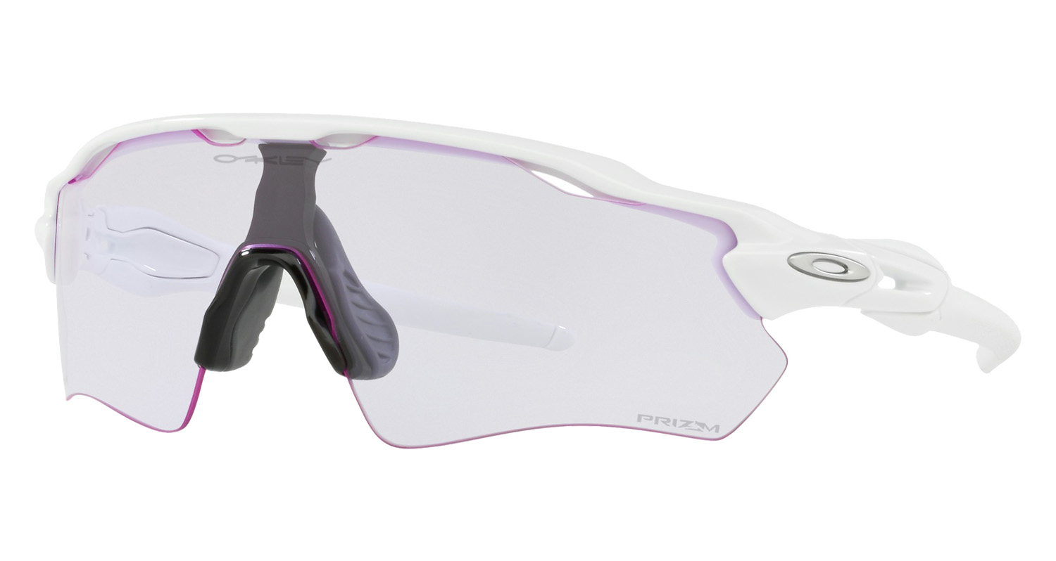 6cb2682ac8 Oakley Radar EV Path Prizm Low Light Polished White Baseball Sunglasses  OO9208-6538