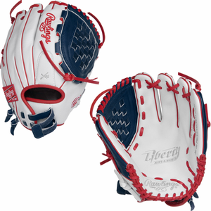 "Rawlings Liberty Advanced Color Series Fastpitch Softball Glove 12.00"" RLA120-3WNS"