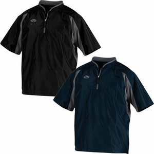 Rawlings Men S Short Sleeve Cage Jacket Toccj