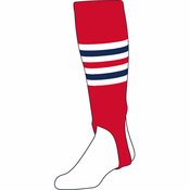 "Twin City 7"" Striped Stirrup Sock 300I"