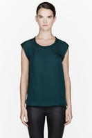 GREEN LIGHT SILKS MUSCLE TEE