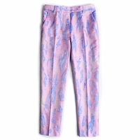 Multicolor Jacquard Pencil Pants