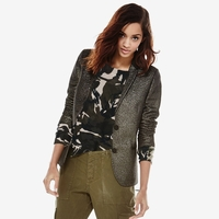 Abstract Camo Cashmere Sweater
