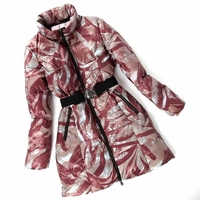 Abstract Down Coat (On Sale)