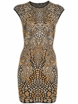 Dragonfly Wing Jacquard Minidress (On Sale)