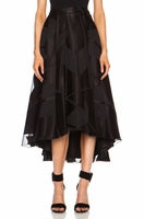 Alice Olivia Black Alice Olivia Tenty Evening Skirt