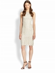 Alice + Olivia Gray Amea Lace Dress - 3.16