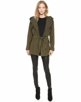Alice + Olivia Green Cole Coat