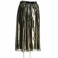 Lizzie Metallic Skirt Metallic
