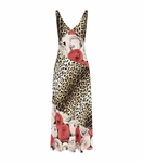 Animal Leopard Rose Gown - 4.21