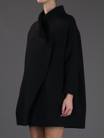 Ariale cotton-shantung coat