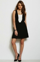 Armani Exchange Layered Swing Dress