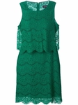 ARMANI JEANS layered lace dress - 5.17