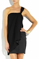 Belle By Oasis One Shoulder Silk Dress