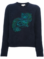 Wool Embroidered Sweater