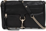 Black Rebecca Minkoff Mac Leather Clutch Bag - 3.17