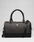 Black Satchel Kerrington Viva Dot